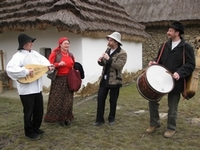 Csango folk music with Sultu Band - in Budapest, Hungary